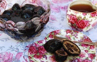 блюда сталина - варенье из грецких орехов