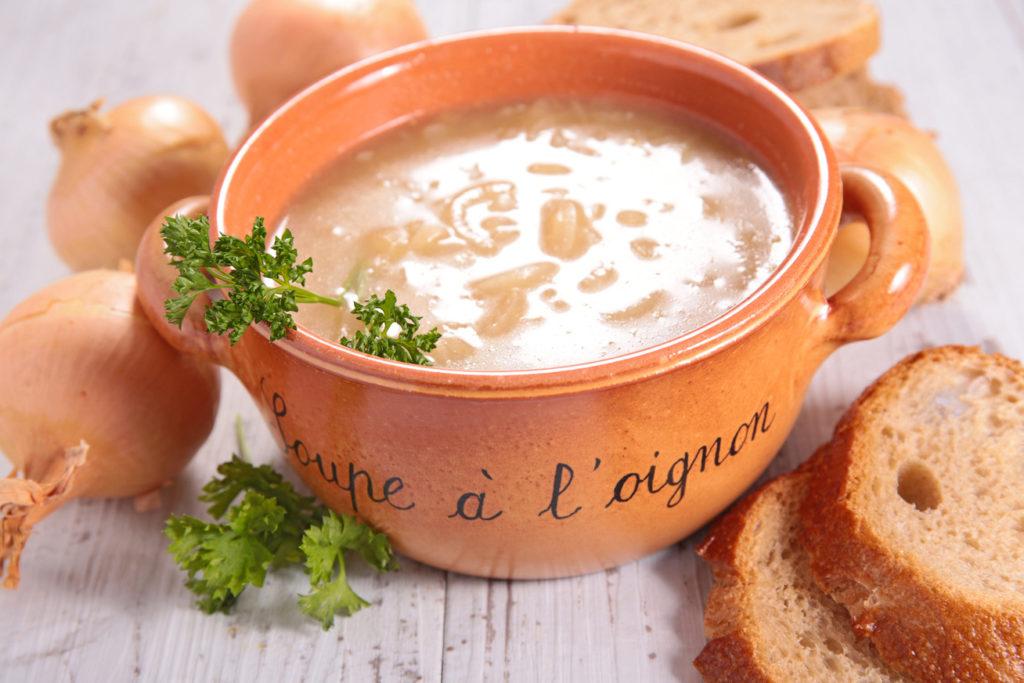 луковый суп фото