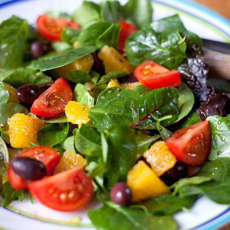 сицилийский салат с апельсином