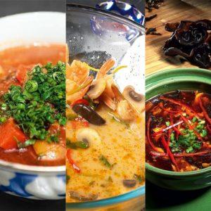 Борщ, щи, супы, уха
