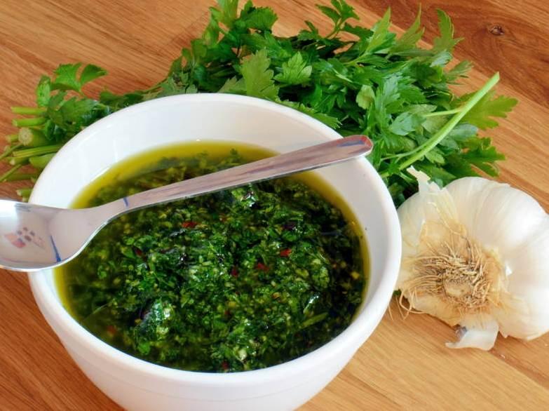 соус чесночный с зеленью фото