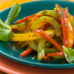 салат из жареного перца фото