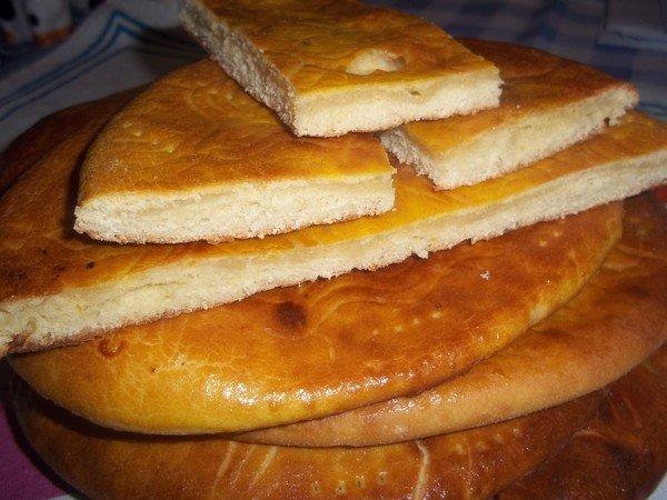 прсстой пирог с сахаром