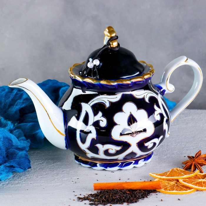 глазированный чайник