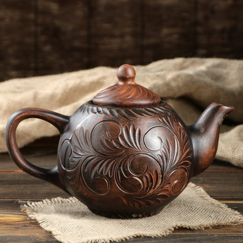 лучший заварочный чайник - глиняный