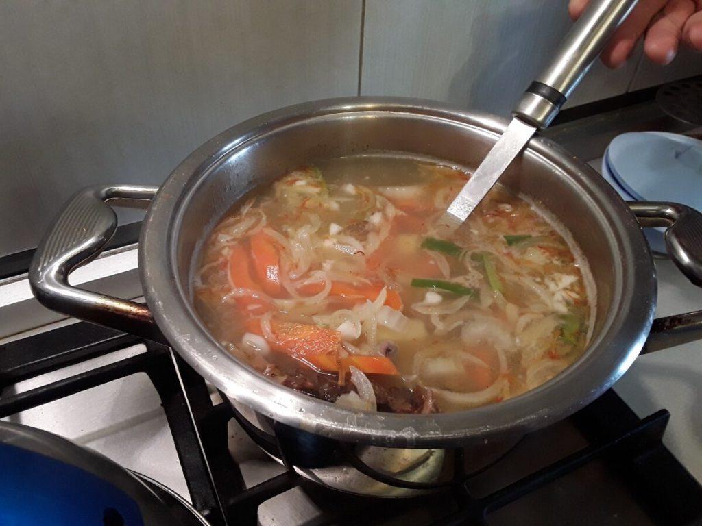 суп уха домашняя