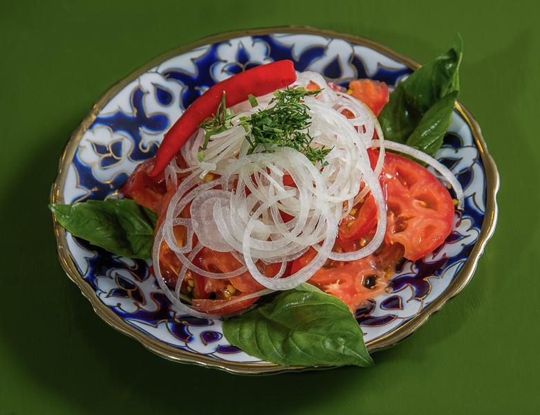 салат шакароб по узбекски