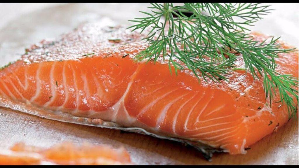 соленый лосось фото