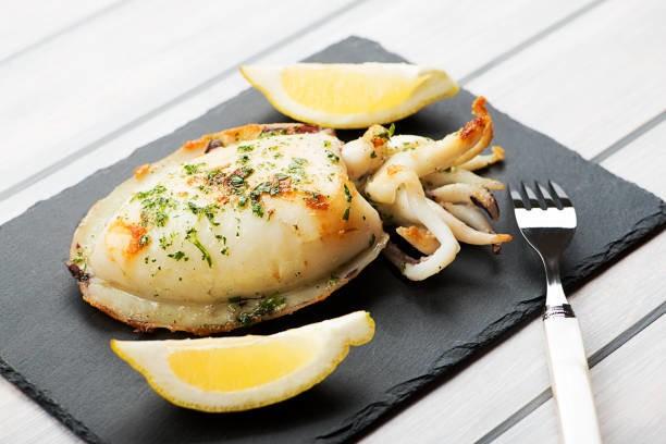 как готовить каракатицу -фото блюда