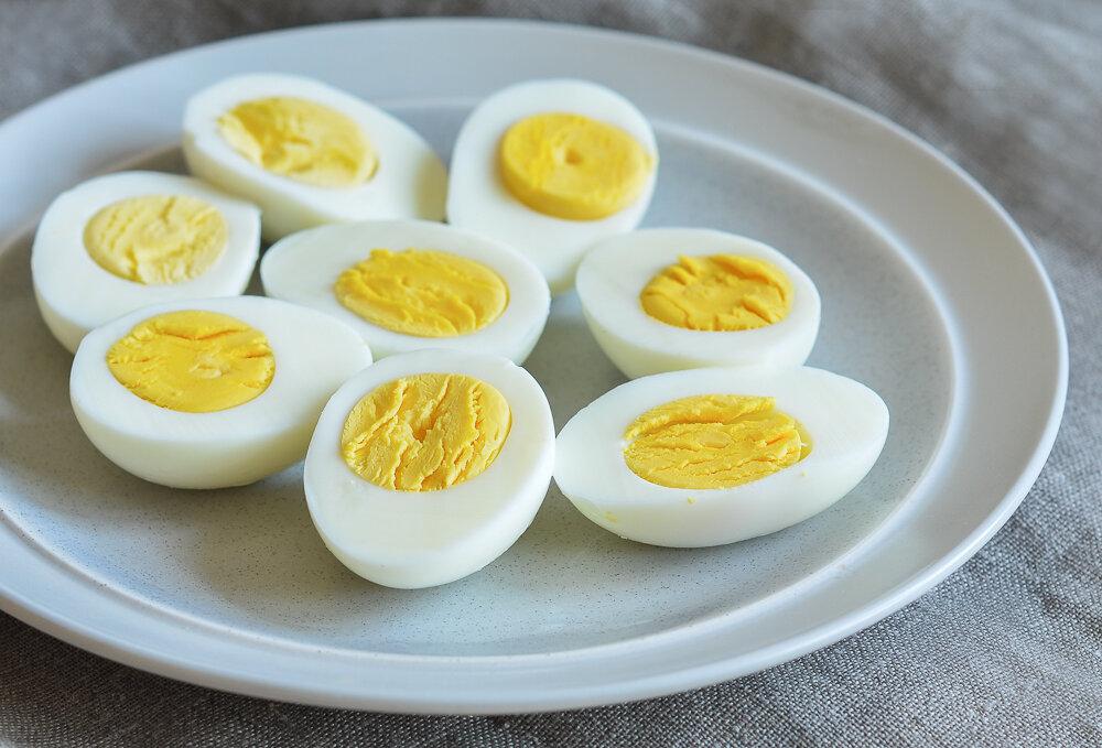 яйца с хреном