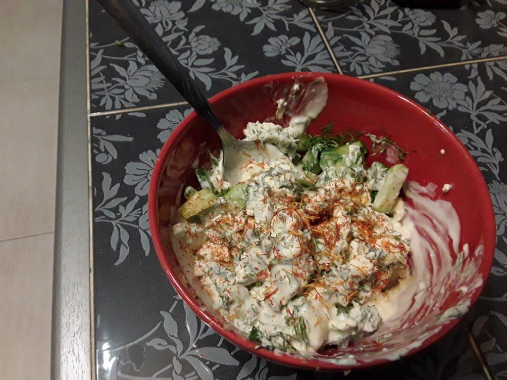 освежающий салат
