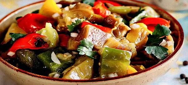 овощи на углях рецепт