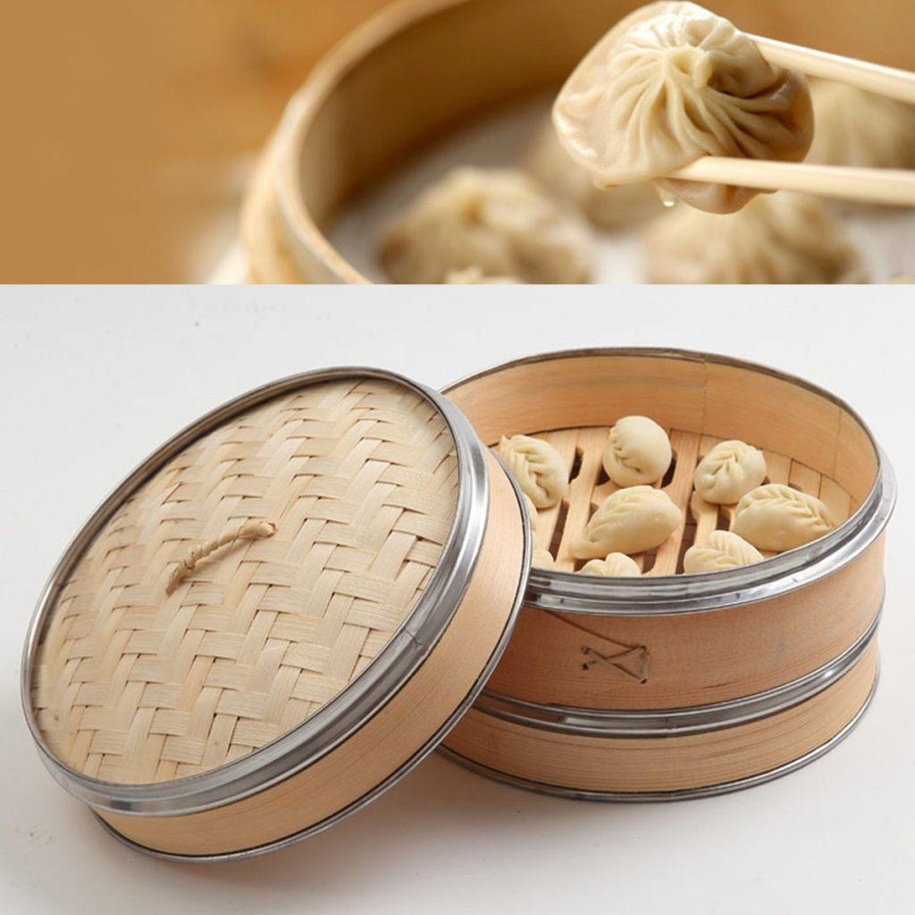 мантоварка бамбуковая