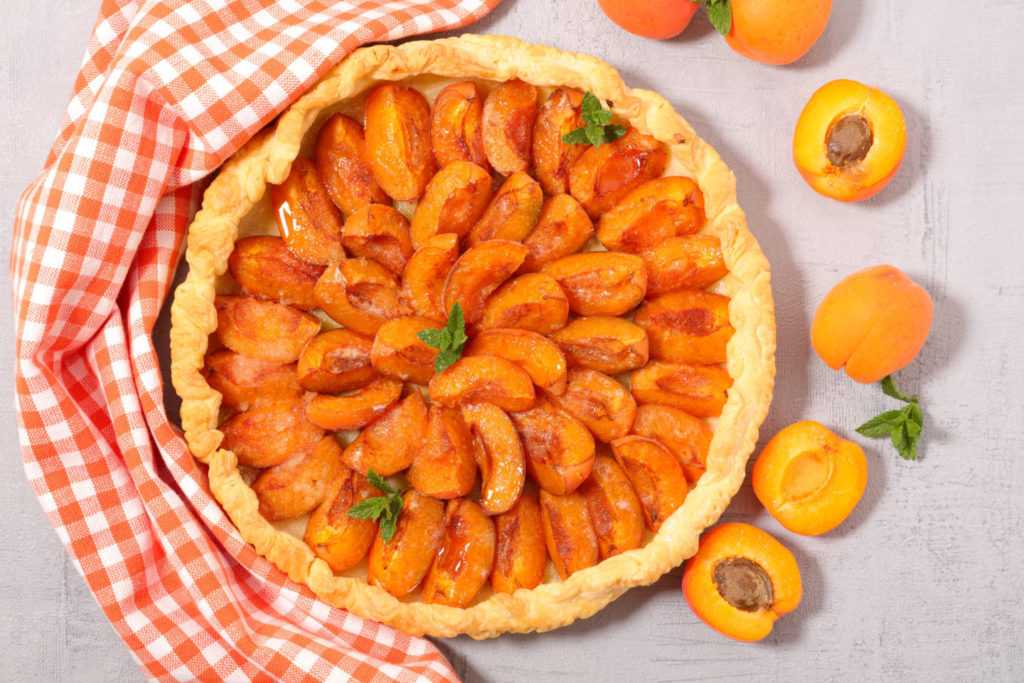 пирог с абрикосами по рецепту от шефа